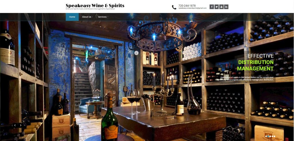 Website Services for the Liquor Industry