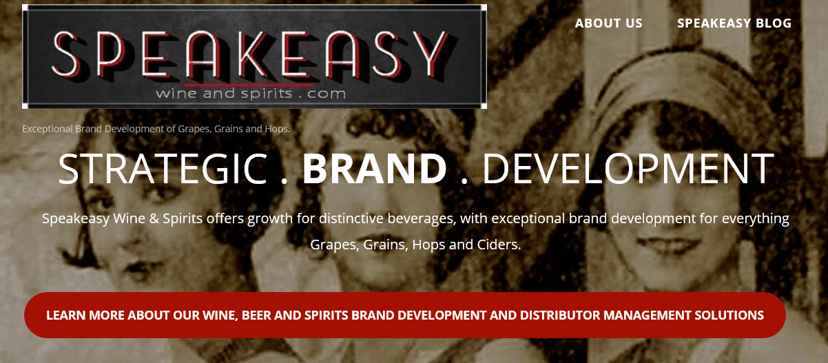 Speakeasy Wine and Spirits Sales and Marketing